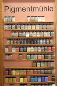 Die riesige Auswahl an Farbpigmenten von Kreidezeit lässt keine Wünsche offen